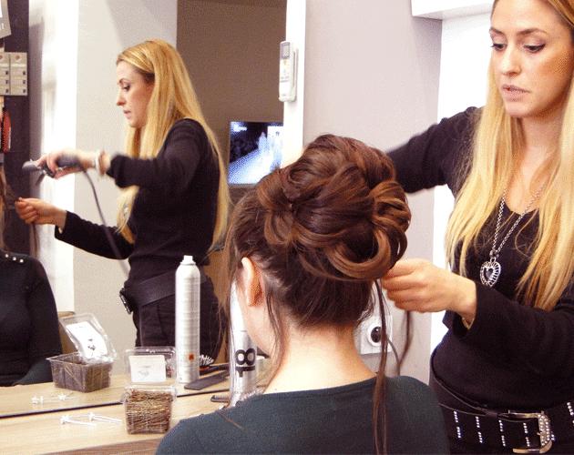 Ma coiffure de mariage chez inspirations lesmondaines blog grenoble - Salon de coiffure qui recrute ...